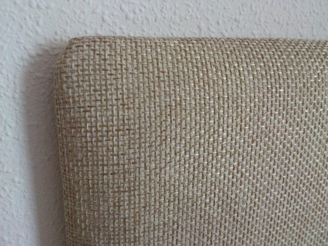 M s de 25 ideas fant sticas sobre respaldos de cama en - Cabeceros tapizados en tela ...