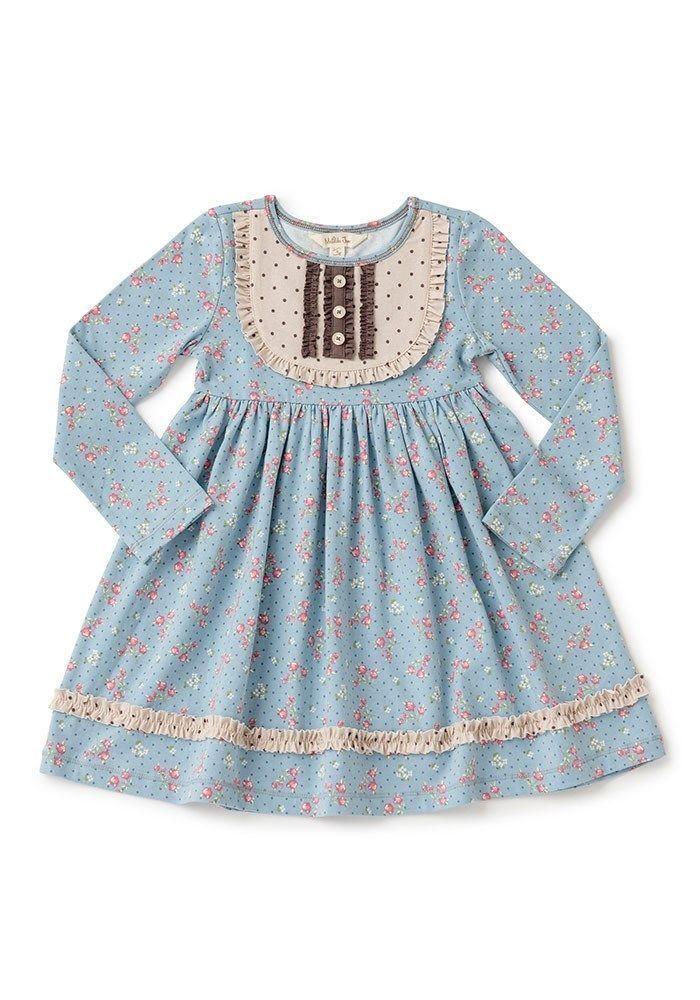 054a7479cf03 NWT Girls Matilda Jane Vault Dotti Dress Matches Gypsy Blue Size 2  fashion   clothing