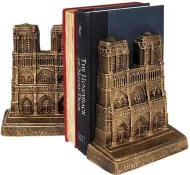 Notre Dame Paris Bookends | Making Book Ends Meet