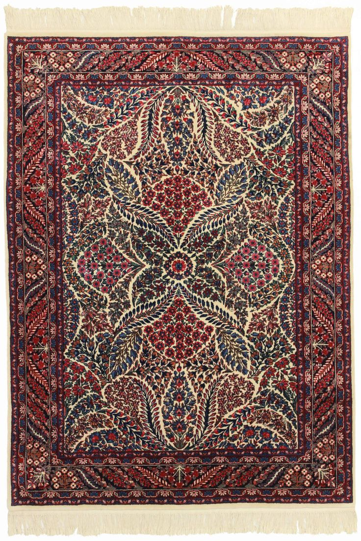 5′1″ × 7′1″ Hand Knotted Wool Chinese Rug
