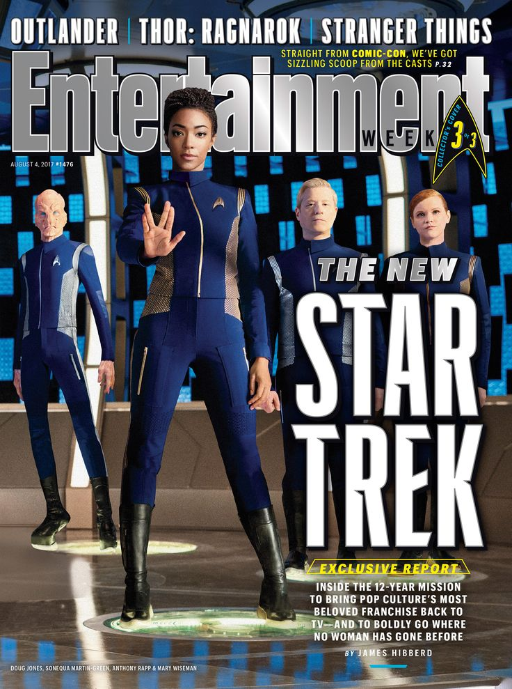 'Star Trek: Discovery' is boldly going where no woman has gone before. Get exclusive details on the new CBS series.