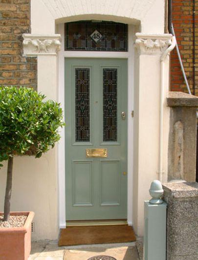 My favourite colour Victorian door