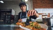 """Fresca and other Vietnamese pizza (""""Toronto-style pizza"""")"""