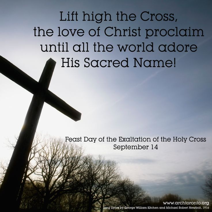 Catholic Quote Of The Day: Quote For The Feast Of The Exaltation Of The Holy Cross