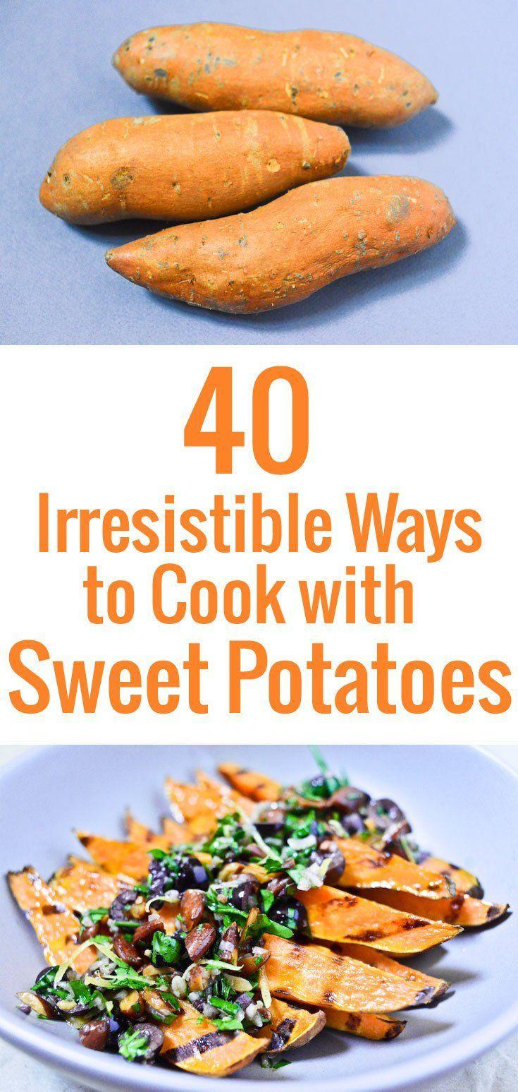 40 idées inspirantes pour cuisiner la patate douce, un superaliment à adopter d'urgence, avec des astuces et des conseils pour les conserver et les préparer.