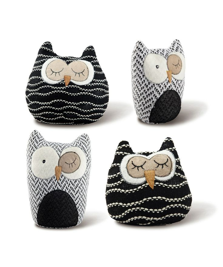 Owl Family Set by Foreside #zulily #zulilyfinds