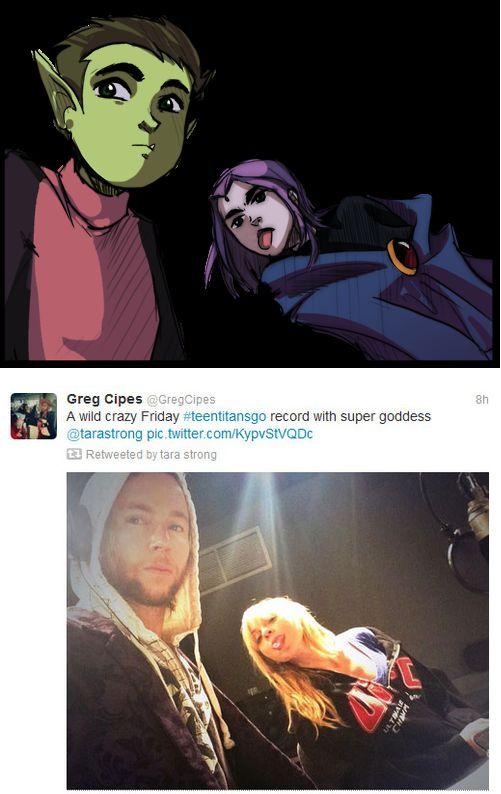 Beast Boy & Raven/Voice Actors