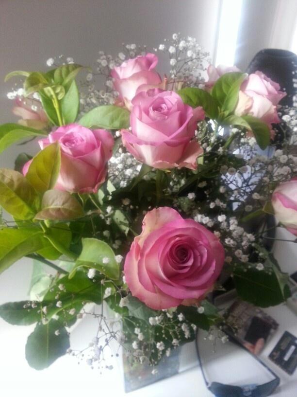 Beautiful roses from my honey