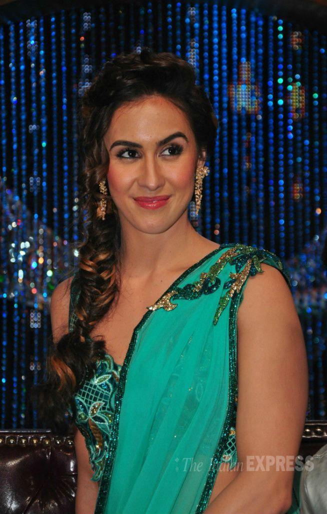 Lauren Gottlieb on 'Jhalak Dikhhla Jaa'. #Bollywood #Fashion #Style #Beauty #Hot