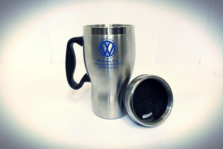 Jarra Termica con distintivo logo VW  http://articulo.mercadolibre.com.ve/MLV-416269296-jarra-termica-con-logo-vw-_JM