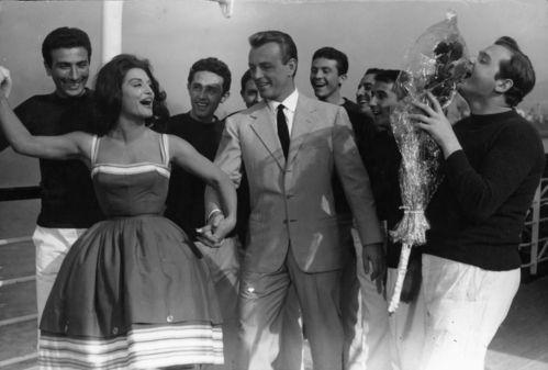 Dalida dans le film Parlez moi d'amour Giorgio Simonelli sorti en 1961