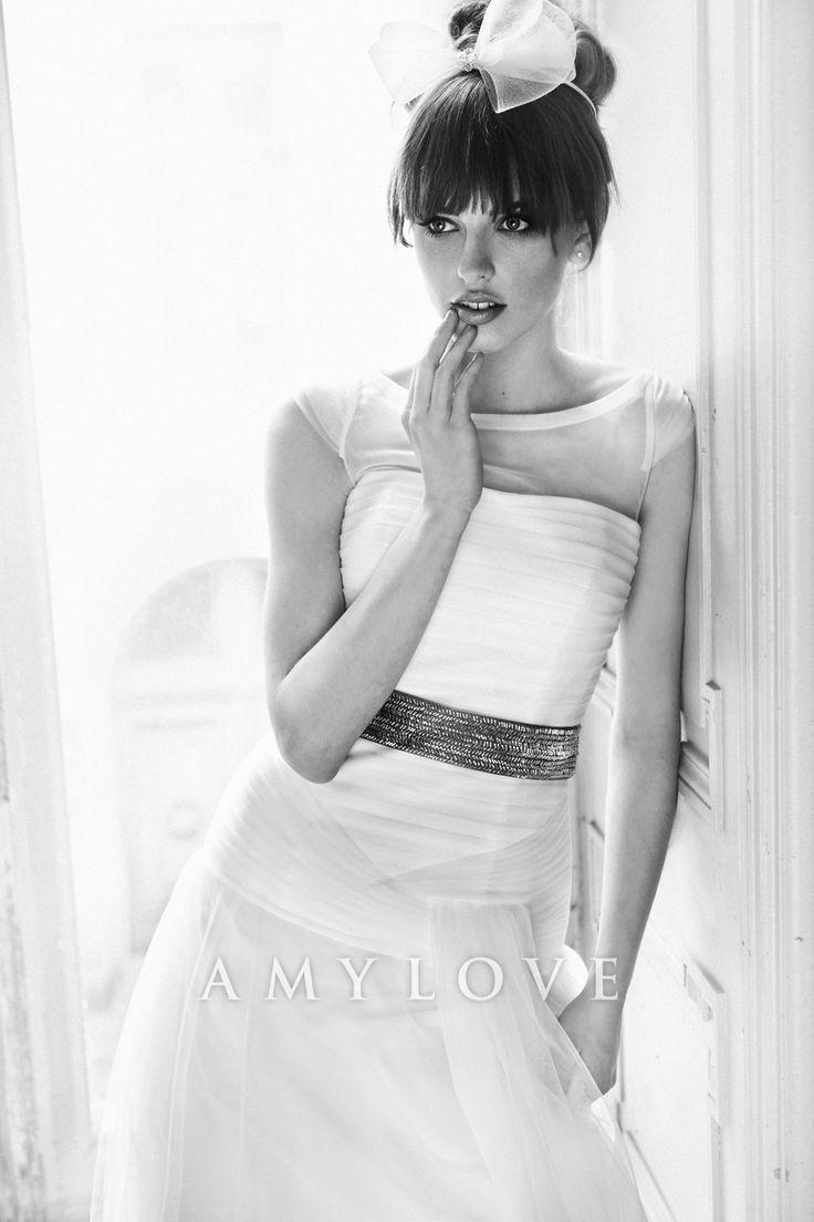 Simple Wedding Dress Amy Love Bridal 2014 - Federica