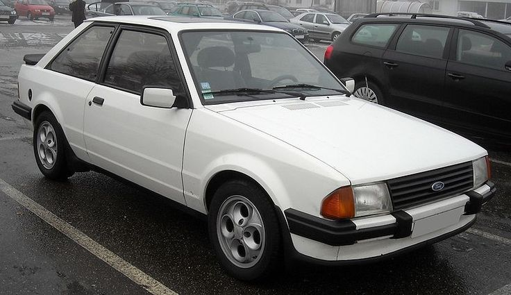 Number 12 was an Escort XR3i this was a great car