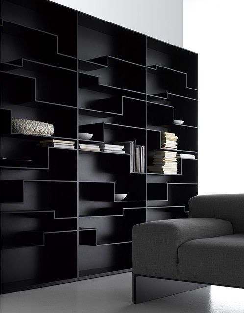 egedesign:    Black - boekenkast?