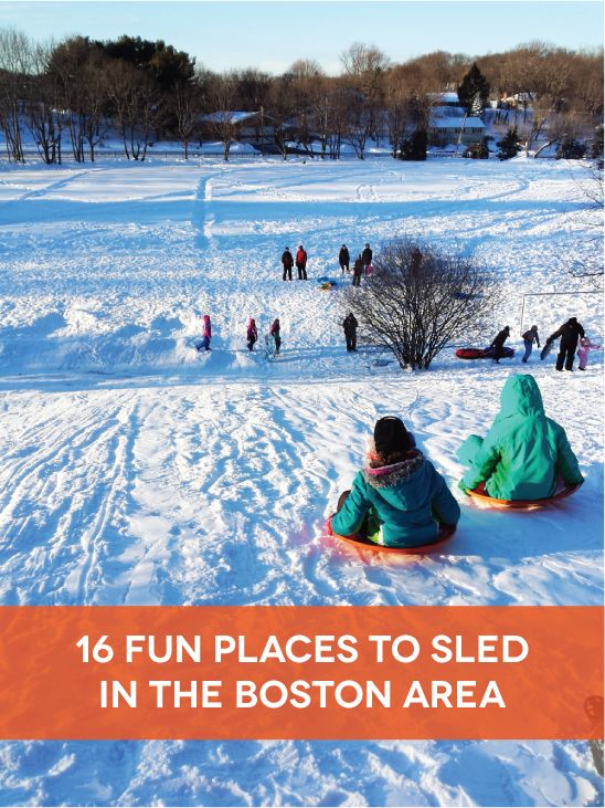 16 fun sledding spots in the Boston area!