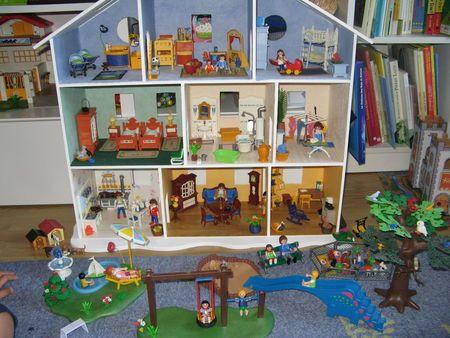 31 best Playmobil images on Pinterest Child room, Doll houses and - jeux de fabrication de maison gratuit