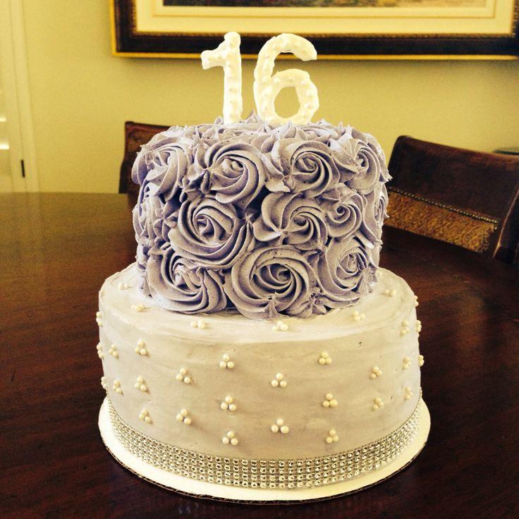 Sweet sixteen cake!