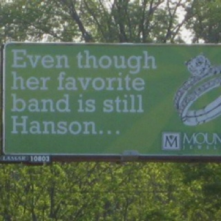 Ok seriously, this billboard was MADE for me!