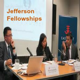 Jefferson Fellowships for Journalists in USA and Asia Pacific Region, and applications are submitted till January 27, 2015. Applications are invited for Jefferson fellowships available to working print, broadcast and online journalists from the United States, Asia and the Pacific Islands. - See more at: http://www.scholarshipsbar.com/jefferson-fellowships.html#sthash.zO2KR8W0.dpuf