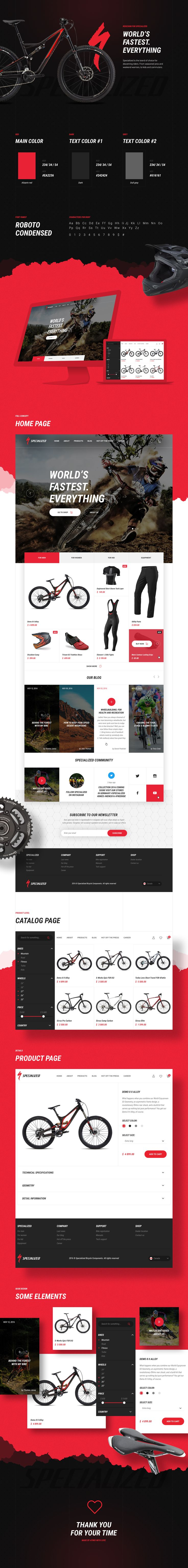 Specialized Concept on Behance