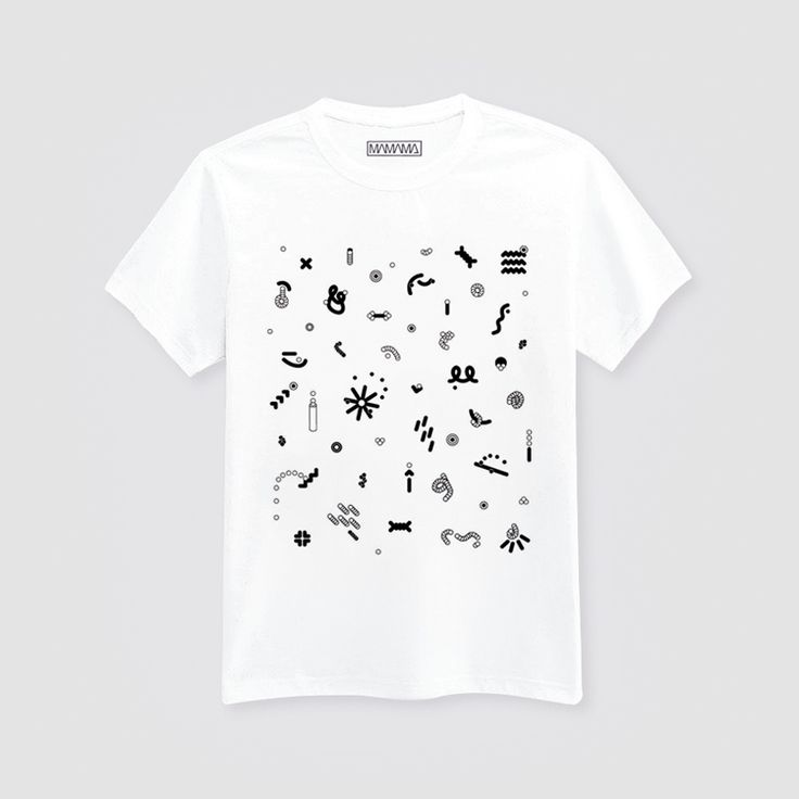 #mamama #graphic #tshirt #print  http://www.urbag.cz/spojeni-mody-grafickeho-designu-a-hudby-v-kolekci-znacky-mamama/