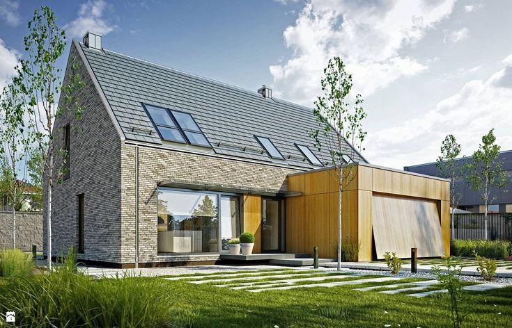 Domy styl Nowoczesny - zdjęcie od DOMY Z WIZJĄ - nowoczesne projekty domów - Domy - Styl Nowoczesny - DOMY Z WIZJĄ - nowoczesne projekty domów