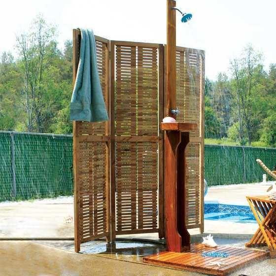 outdoor shower fixtures outdoor shower fixtures made of teak