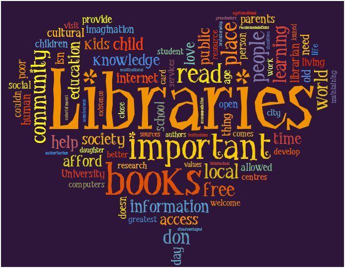 Libromancer's Apprentice: Love Your Library Month http://libromancersapprentice.blogspot.com/2013/02/love-your-library-month.html