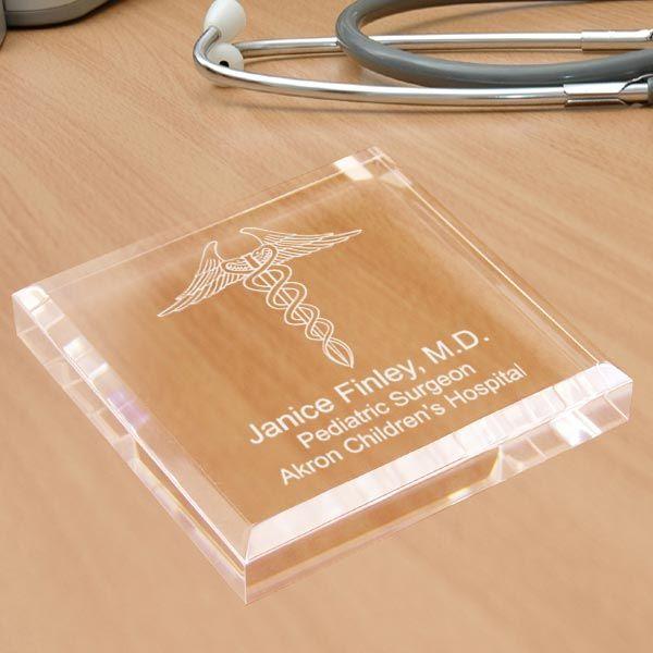 Doctor Keepsake & Paperweight. For when my friends graduate med school.