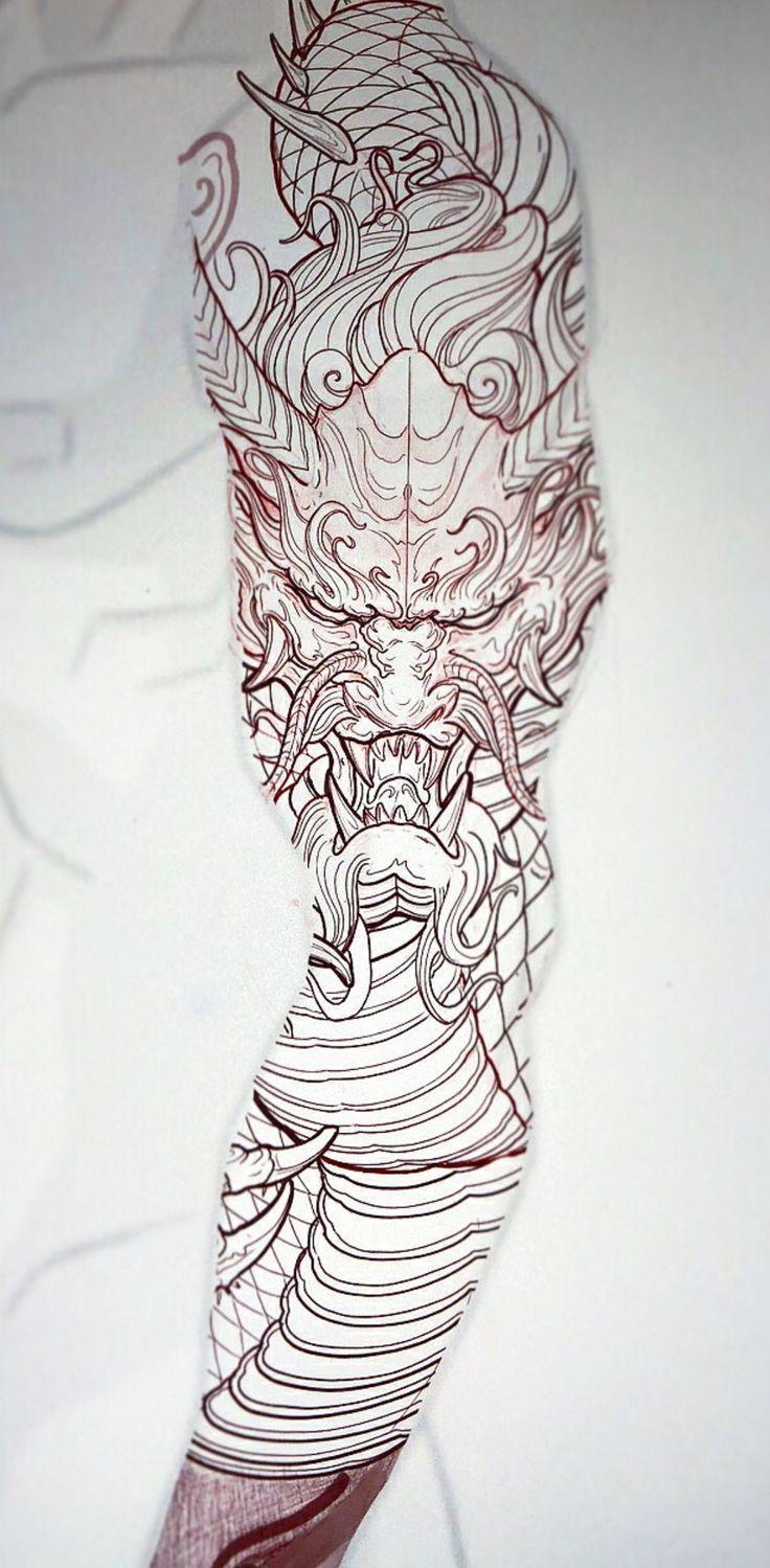 Ideen Notitle Tattoo Notitle Tattoo Notitle Tattoo Ideen Dragon Sleeve Tattoos Tattoo Sleeve Designs Japanese Dragon Tattoo
