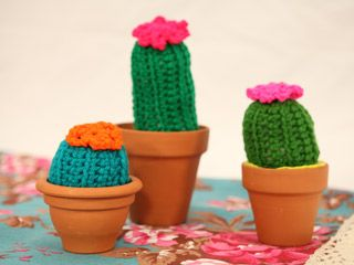 Manualidades y Artesan?as Cactus tejido Utilisima.com ...