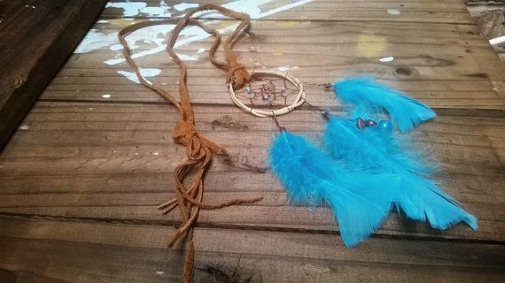 Check out this item in my Etsy shop https://www.etsy.com/uk/listing/244463243/dreamcatcher-necklace