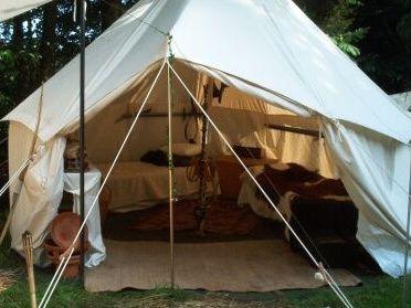 cotton medieval tent, market tent, LARP, liveroleplay, liverole - Mittelalterland