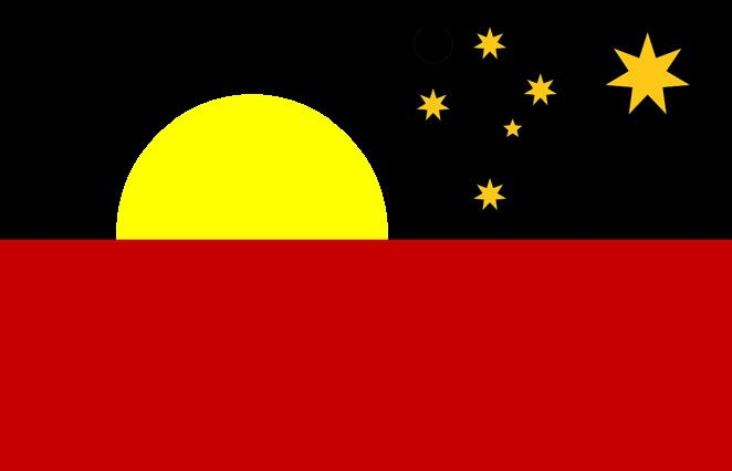 Australian Flag Proposal _ Night Skies Of The Noongar _ David Reneke (2015)