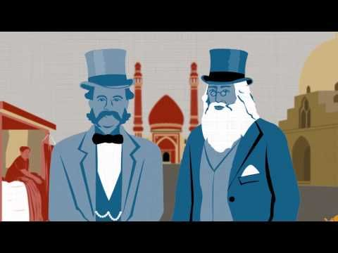 Animated Introductions to Edward Said's Groundbreaking Book Orientalism