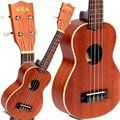 Kala KA-S Soprano Mahogany Ukulele by Kala. $59.00. You know you want a uke! Who can resist the laid-back vibe of these slim little four-stringed strummers? And whether you're new to the ukulele or you're a seasoned player, you'll appreciate the high quality and amazing bang for your buck you get with a Kala ukulele. These are simply gorgeous instruments that sound and play like much more expensive, one-off, boutique-grade ukes.. Save 40%!