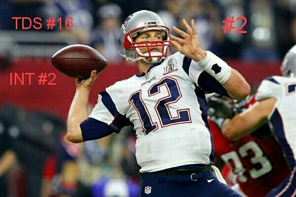 My number 1 and number 2 qurterbacks for this season. No I'm not a Tom Brady hater in fact Tom Brady is my favorite qurterback but let's be honest this season hasn't been the best the season he's number 2 is cuz of what he does to win for this team Edlemens out they win games Gronk is out they win games. Tom always figures out away to win even with out his big targets. Tom Brady has 16 touchdowns with 2 interceptions this season not his best numbers but there still pretty impressive without…