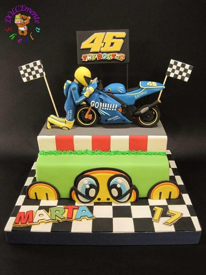 Valentino moto gp cake