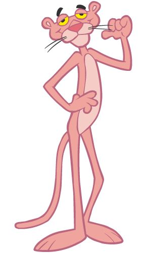 pink panther.....I put him in my daily funnies because I remember.............do you?
