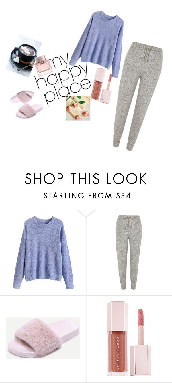 """""""My happy place"""" by elfafungian on Polyvore featuring River Island, Puma and Burberry"""