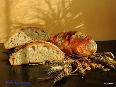 Moje Małe Czarowanie: Chleb długorosnący pszenno - orkiszowy z otrębami ...