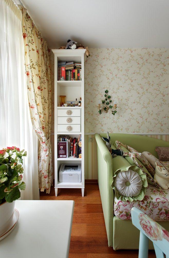 Стиль Прованс в интерьере квартиры | Портфолио студии Мирабель