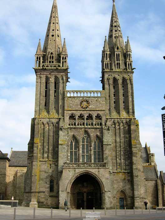Cathédrale de Saint-Pol-de-Léon, Nord Finistere.  Bretagne