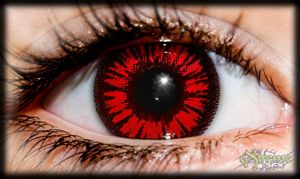 Red Twilight Theatrical Contact Lens