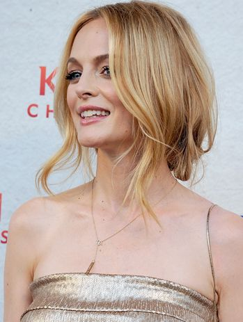 Heather Graham blonde.