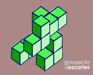 PROYECTO CANALS. Policubos. Trabajar las fracciones haciendo y deshaciendo prismas rectangulares y reconocer que una misma figura parcial expresa un fracción u otra, según sea la figura completa de referencia.