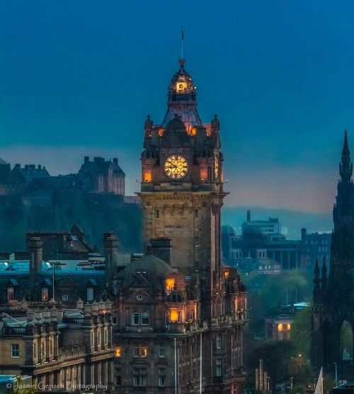 "FUCKITANDMOVETOBRITAIN — lynnialljohnson: ~ Edinburgh ~ ""The Balmoral..."