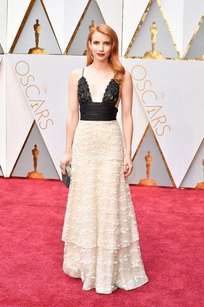 Emma Roberts   Oscars 2017 Red-Carpet Dresses   British Vogue