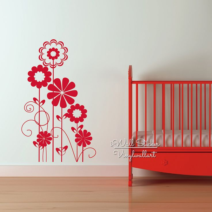Baby Nursery Flower Wall Sticker Lovely Flower Wall Decal From IWall Sticker  At Aliexpress Part 88