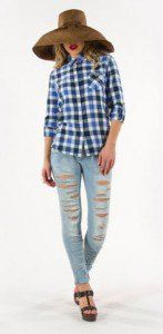 karo poukamiso Women STAFF Jeans clothes for spring-summer 2016